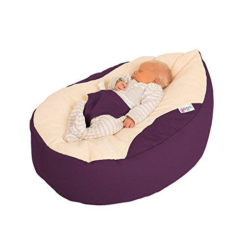 Luxury Cuddle Soft Gaga Baby Bean Bags (Lila)