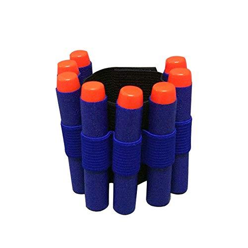 Isuper Las Balas 2pcs Pistola de Juguete Accesorios de EVA Arma Suave de la Correa de la muñeca de la Banda Bandolera para Nerf N-Strike Elite Series Blasters