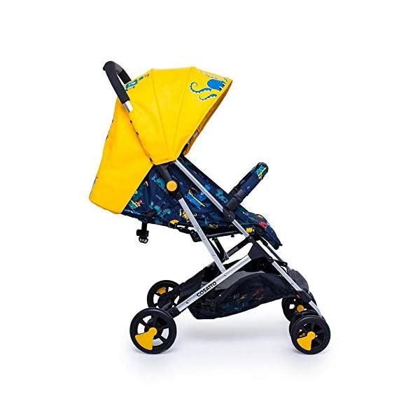 Cosatto CT4226 Woosh 2 Sea Monsters 7.2 kg Cosatto Suitable from birth to max weight of 25kg, lets your toddler use it for even longer Lightweight, sturdy aluminium frame New-born recline 4