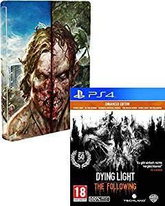 Dying Light The Following STEELBOOK Edition (Deutsche Verpackung) - 100{6ff9e84eabd9695a908fe4ced3253b029572ff40a211eceee15a10e27c5c1723} Uncut/PEGI