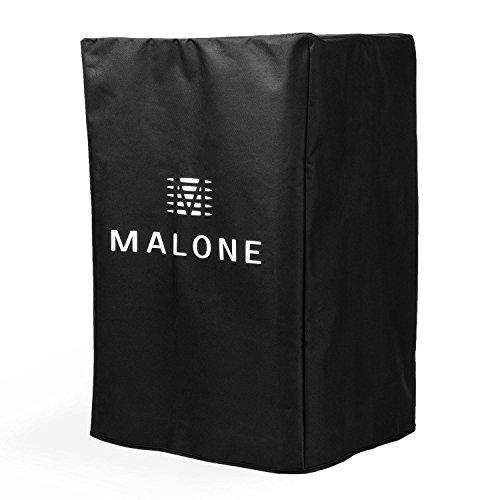 Malone PA Cover Bag 12 Funda protectora Altavoz PA (Cubierta 30 cm (12') Nailon, resistente impermeable, protección altavoces escenario, bolsa fácil transporte equipo sonido)