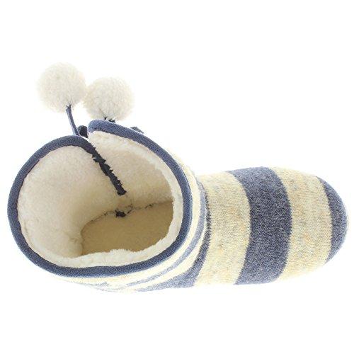 MIK Funshopping, Pantofole donna Navy Multi