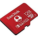 SanDisk SDSQXAO-128G-GNCZN microSDXC UHS-I Card for Nintendo Switch, 128 GB, Nintendo Licensed Product