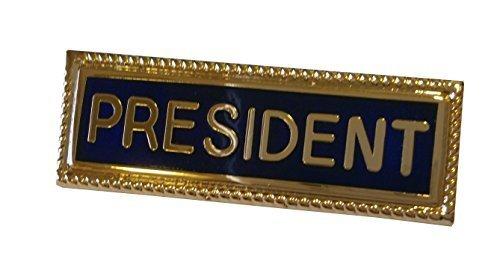 name-badge-president