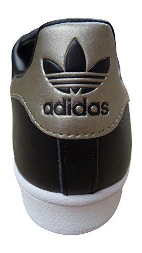 adidas Originals Superstar Metallic Pack sneakers scarpe da ginnastica da uomo CBLACK/CYBEMT/FTWWHT S81727