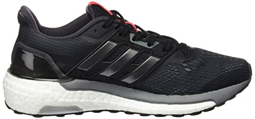 adidas Supernova W, Chaussures de Tennis Femme Noir (Core Black/Iron Metallic/Core Pink)