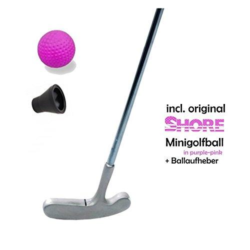 Mini Golf Set Kids-Girl-3pièces (avec original Shore Mini Balle de Golf GOLF Balle) et mini de pick-up