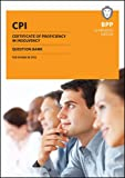 CPI Certificate of Proficiency in Insolvency: Question Bank