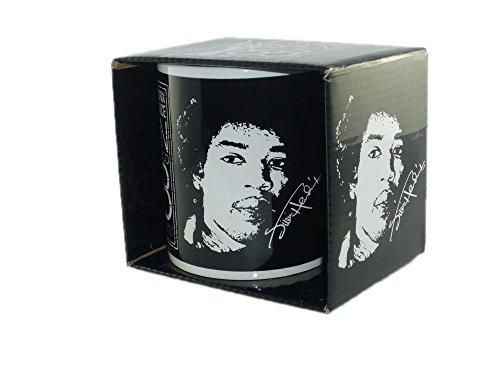 Jimi Hendrix - Rock Band Tasse Geschenktasse Mug (San Francisco 68).Verpackt in einer stabilen Geschenkbox -