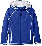 Amazon Essentials Full-Zip Active Jacket, outerwear-jackets Niños, Azul, XL (Talla fabricante: 12)