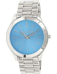 Michael Kors MK3292 - Reloj para mujer con correa de acero, color azul / gris