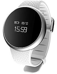 Smart bracciale,Pressione sanguigna cardiofrequenzimetro,Bluetooth sport anti-perso,Monitor di sonno impermeabile pedometro,Orologio elettronico maschile o femminile-B