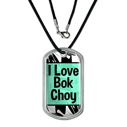 dog-tag-pendant-necklace-cord-i-love-heart-food-a-b-bok-choy