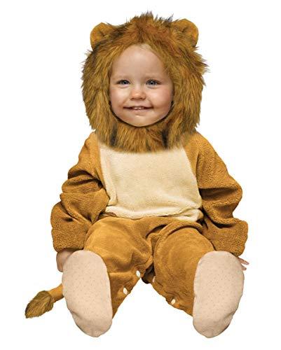 Horror-Shop Plüsch Löwe Babykostüm 12- 24 ()