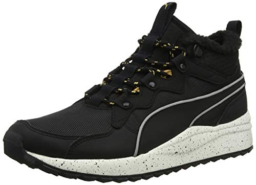 reputable site b59e0 847da Puma Pacer Next SB WTR, Zapatillas Altas Unisex Adulto, Negro Black-Whisper  White