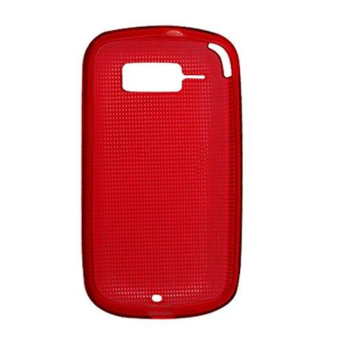 Schutzüberzug-Fall-Schild-Schutz für HTC T4242 Red