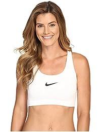 Nike W Np Pro Classic Swoosh Bra, Sujetador deportivo para Mujer, Blanco (White/Black), XL