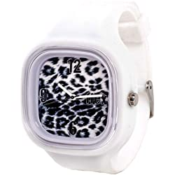 Flexwatches Snow Leopard white
