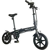 Helliot Bikes Siam Bicicleta eléctrica Plegable con batería de Litio, Adultos Unisex, ...