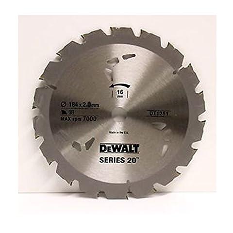 Lama Circolare Serie 20 184x2.0 mm