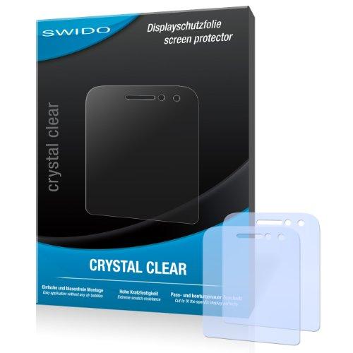 SWIDO Bildschirmschutz für BlackBerry Q5 [4 Stück] Kristall-Klar, Hoher Härtegrad, Schutz vor Öl, Staub & Kratzer/Schutzfolie, Bildschirmschutzfolie, Panzerglas Folie
