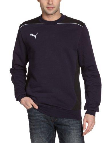 PUMA Herren Sweatshirt Foundation New Navy/black