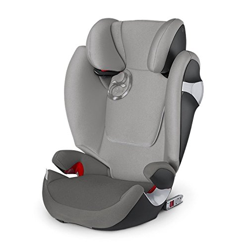 Cybex Gold Solution M-fix, Autositz Gruppe 2/3 (15-36 kg), Kollektion 2016, Manhattan Grey, mit Isofix