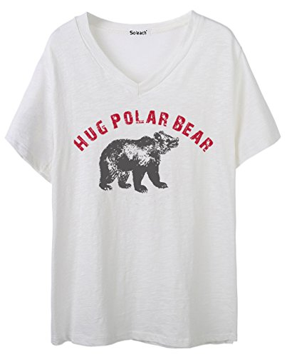 soeach-womens-polar-bear-letters-graphic-v-neck-tee-t-shirt-ladies-casual-top