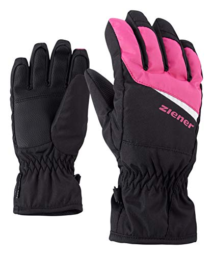 Ziener Kinder LIPO AS(R) Glove junior Handschuhe, Black/pop pink, 6,5 -