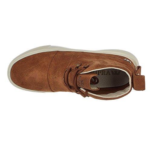 Supra Men's Charles Men's Beige Suede Boots Suede Brown/Bone White
