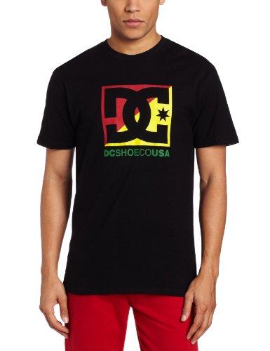DC - - Junge Männer Kreuz Sterne T-Shirt Black/Green