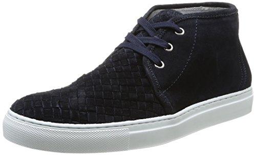 Florsheim  Puskas,  Sneaker uomo Blu Bleu (Navy Woven Suede) 46