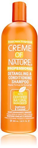 Creme of Nature Detangling Conditioning Shampoo?or Normal Hair, Sunflower and Coconut, 20 Ounce by Creme of Nature