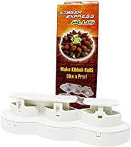 Kibbeh express plus Kibbeh rolls faster than ever. Kibbeh Maker 10 To 12 seconds to produce 1 Roll - 6 seconds