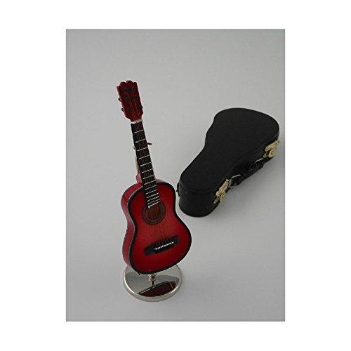 Imagen de ciaf, 2503 4667,  española decorativa roja. miniatura en madera. con estuche y soporte. 16x5x4 cms alternativa