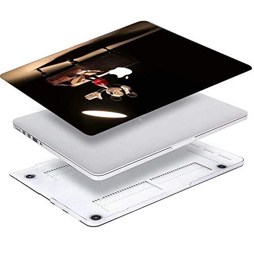 41rgMdjr7RL - AQYLQ Funda Dura para MacBook Air 13 Pulgadas (A1369 / A1466), Ultra Delgado Carcasa Rígida Protector de Plástico Cubierta - Disney Mickey