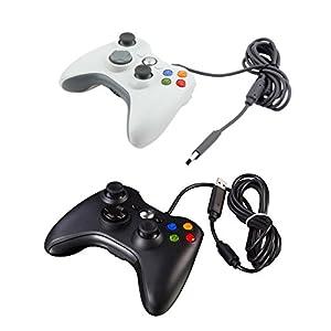 Kasit 1PC USB Verdrahtet Gamepad Controller Classic Spiel Joystick Joypad für Xbox 360 WindowsW98/2000/Win7/WIN10/XP/ME/Vista