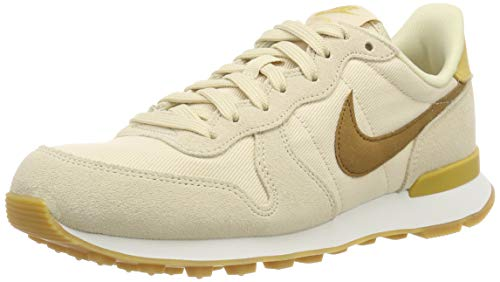 9fefd1f9e08857 Nike Damen Internationalist Laufschuhe Mehrfarbig (Beach Wheat Gold Summit  White 209) 40.5