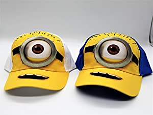 Despicable Me Minion Made Baseball Caps, Minion Hats and Caps for Children