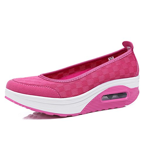 Mesdames clair chaussures occasionnelles/Chaussures hautes/Sneakers mesh respirant A