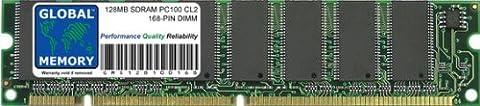 128MB PC100 100MHz 168-PIN SDRAM DIMM ARBEITSSPEICHER RAM FÜR IMAC G3 & POWERMAC G3