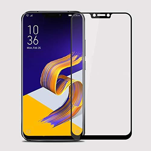 YIHUI Explosionsgeschütztes Glas Flim XINGHCEN MOFI 9H 2.5D Arc Edge Gehärtetes Glas Film für Asus Zenfone 5 (2018) / ZE620KL (Schwarz) Displayschutz (Farbe : Black)