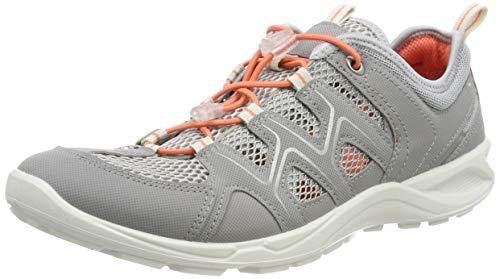 ECCO Damen TERRACRUISELTW Sneaker, Grau Grey/Silver Metallic 59105, 37 EU