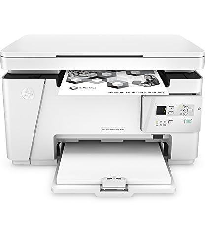 HP LaserJet Pro M26a Laser Multifunktionsdrucker (Drucker, Scanner, Kopierer, USB, 600 x 600 dpi) weiß