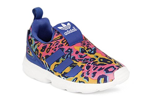 adidas, Scarpe indoor multisport bambine FTWWHT/EQTBLU/EQTBLU