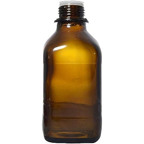 Witeg bottiglia 250 ml con filettatura GL28, grazie alla punta lunga raggiunge in plastica rivestimento protetto contro feriti