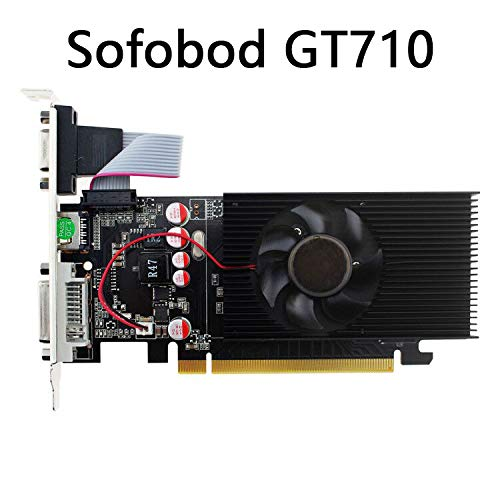 Sofobod GeForce GT710 Tarjeta GráficaDVI-I/HDMI/VGA