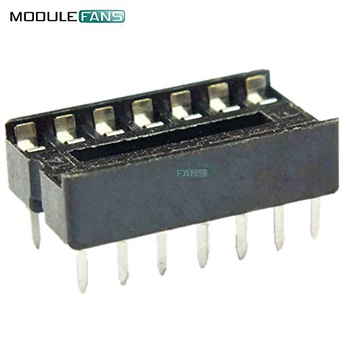 20 Stück DIP 14 Pins IC Socket Adapter Adapter Lötart Socket DIP-14 Socket 14 Pin