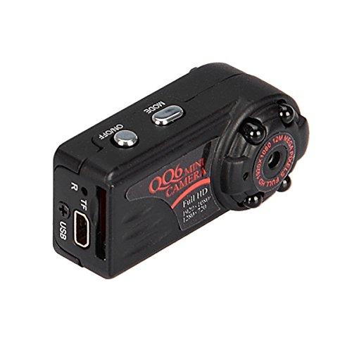 MASUNN Qq6 Full HD 1080P 720P Mini DV Dvr Kamera-Camcorder-Camcorder Ir Nachtsicht-Bewegung Erkennen Dvr