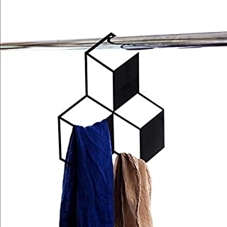 Artori Design 3D Cube schwarz Metall Closet Rack - 3 Cubes